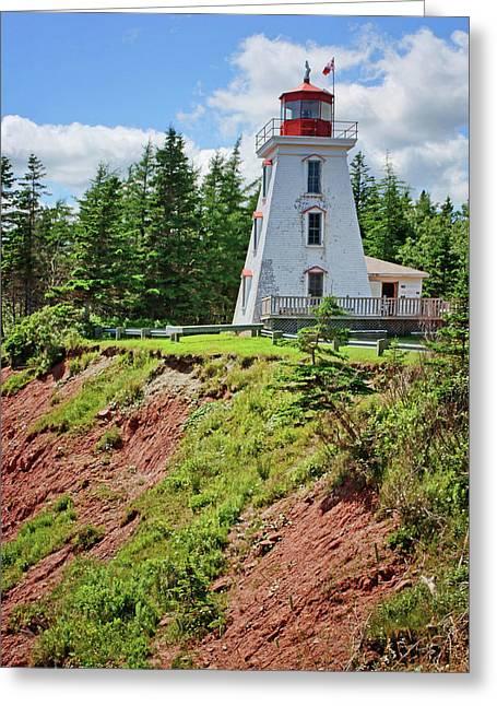 Cape Bear Lighthouse - 2 Greeting Card
