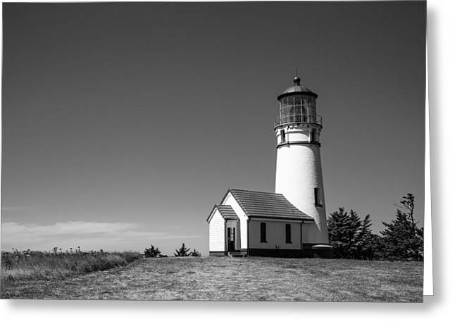 Cape Blanco Lighthouse Greeting Card by Ralf Kaiser