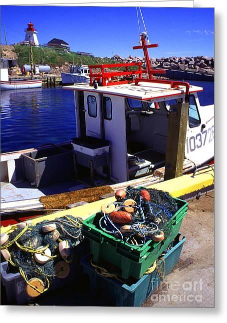 Cape Breton Island Greeting Card by Thomas R Fletcher