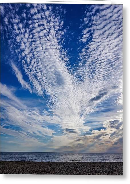 Cape Clouds Greeting Card