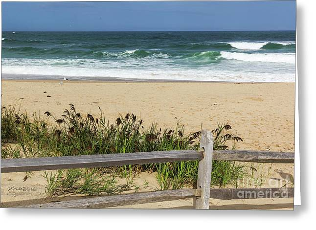 Greeting Card featuring the photograph Cape Cod Bliss by Michelle Wiarda