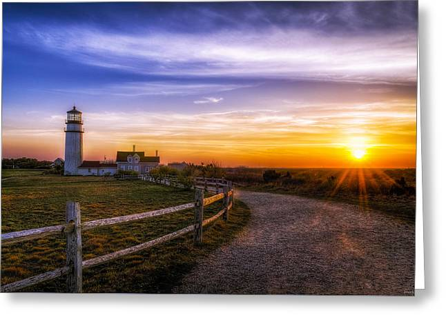 Cape Cod Light Greeting Card