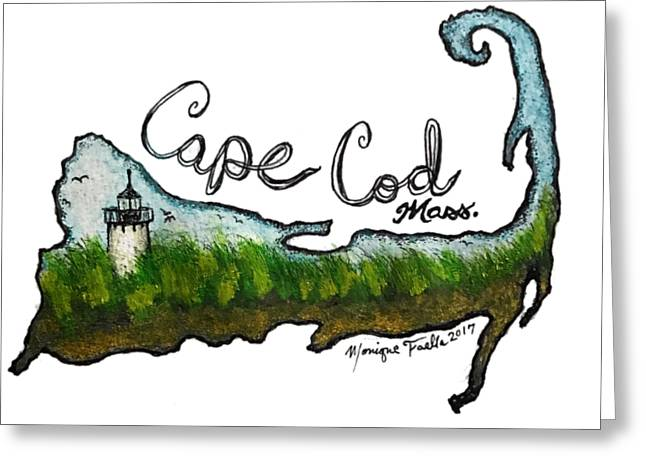 Cape Cod, Mass. Greeting Card