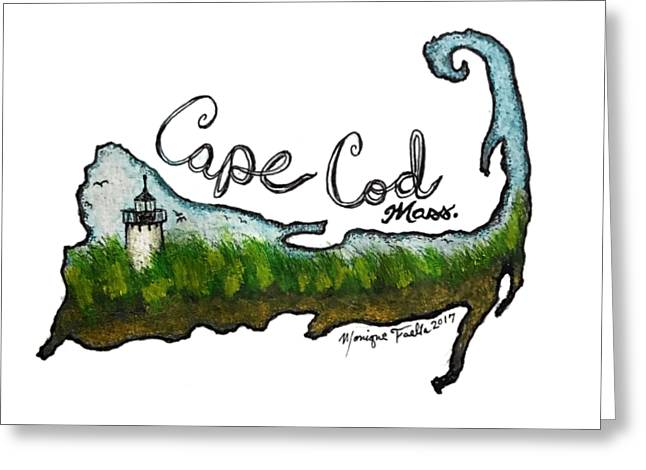 Cape Cod, Mass. Greeting Card