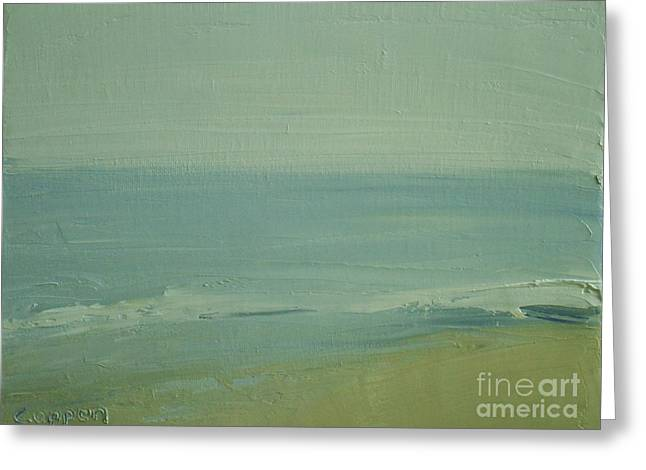 Early Morning On Cape Cod Greeting Card by Robert Coppen