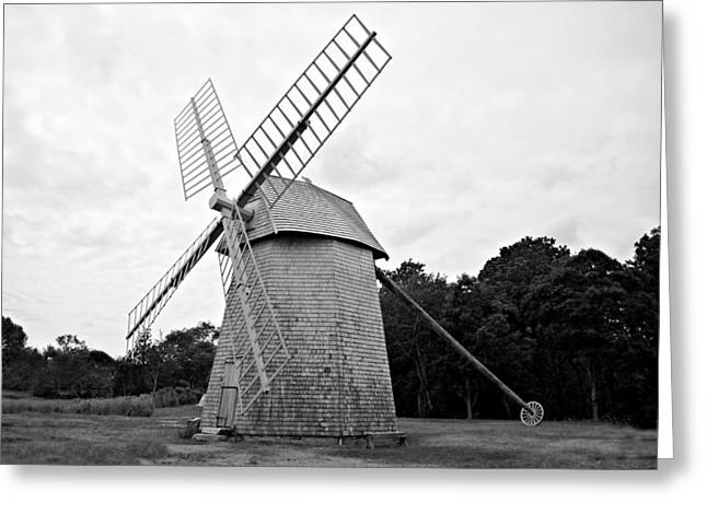 Cape Cod - Old Higgins Farm Windmill Greeting Card
