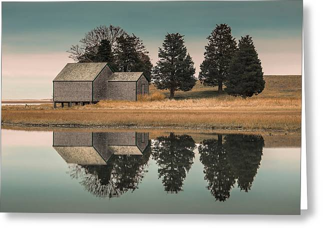 Cape Cod Reflections Greeting Card