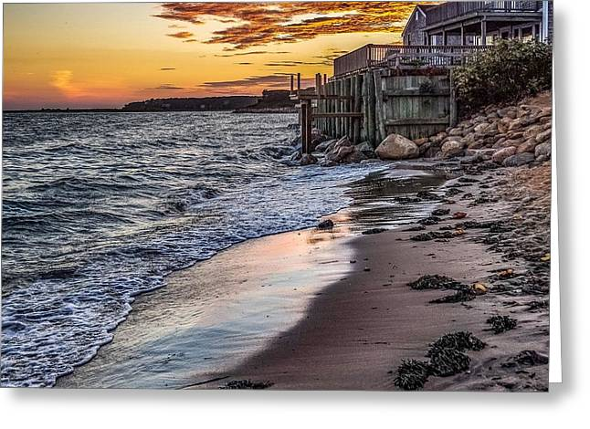 Cape Cod September Greeting Card