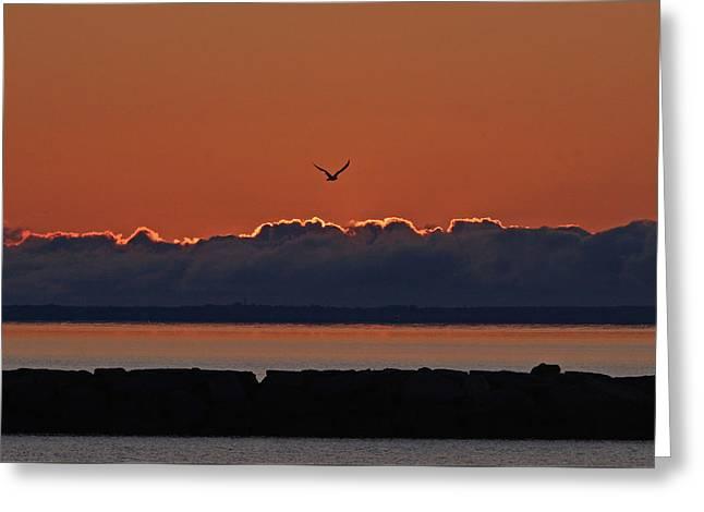 Cape Cod Sunrise #2 Greeting Card