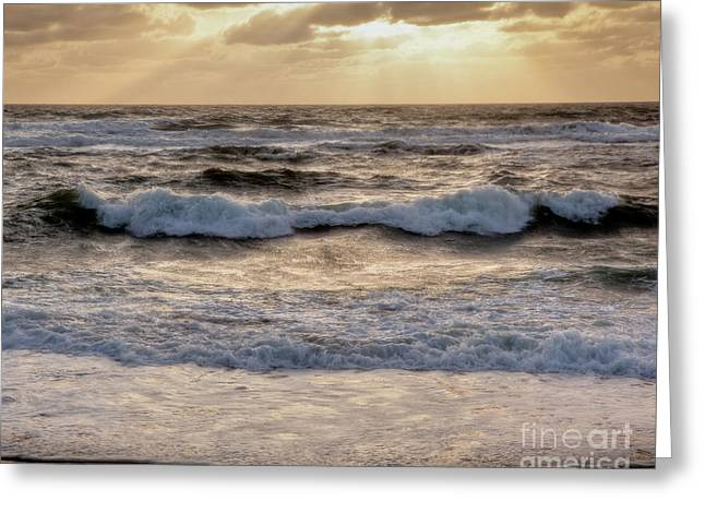 Greeting Card featuring the photograph Cape Cod Sunrise 2 by Susan Cole Kelly