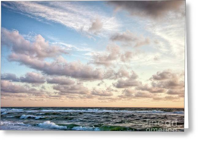 Greeting Card featuring the photograph Cape Cod Sunrise 3 by Susan Cole Kelly