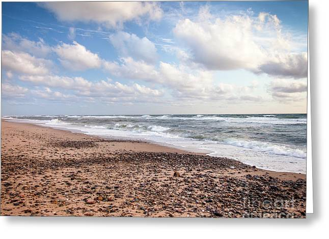 Greeting Card featuring the photograph Cape Cod Sunrise 4 by Susan Cole Kelly