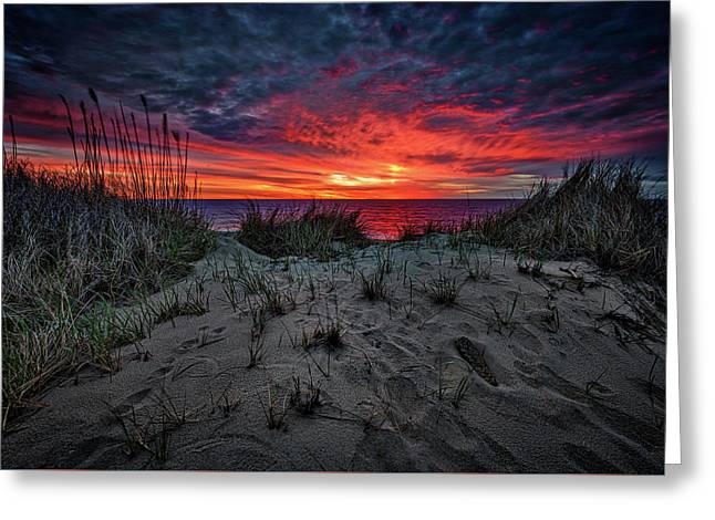 Cape Cod Sunrise Greeting Card