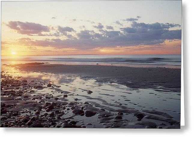 Cape Cod Sunset Greeting Card