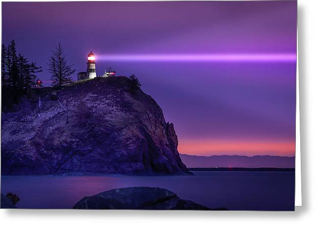 Cape Disappointment Light Greeting Card