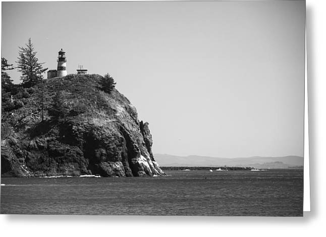 Cape Disappointment Lighthouse Greeting Card by Ralf Kaiser