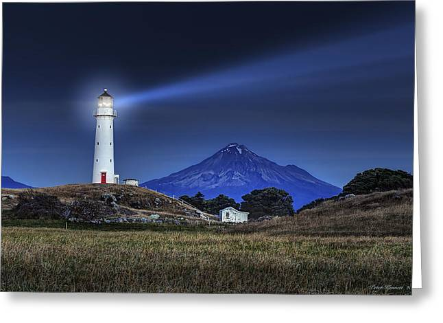 Cape Egmont Greeting Card