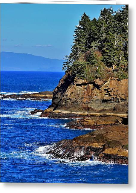 Cape Flattery Greeting Card by Stacie Gary