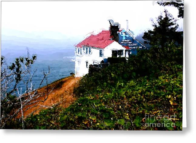 Cape Foulweather Greeting Card by Methune Hively