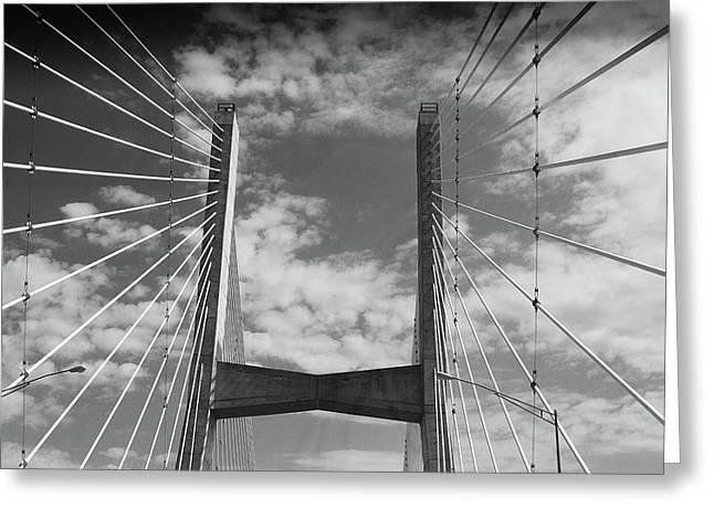 Cape Girardeau Bridge Greeting Card