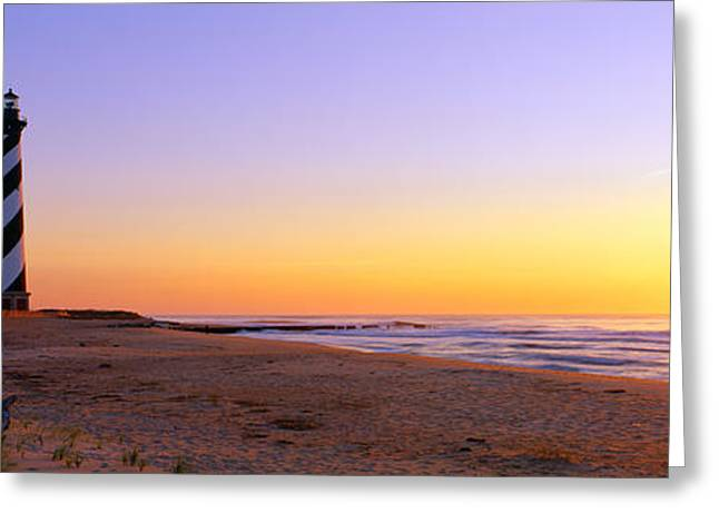 Cape Hatteras Lighthouse, Cape Greeting Card by Panoramic Images