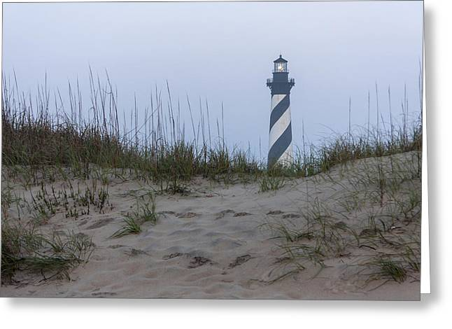 Cape Hatteras Over The Dunes Greeting Card