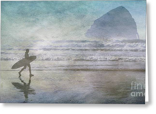 Cape Kiwanda Oregon  Greeting Card