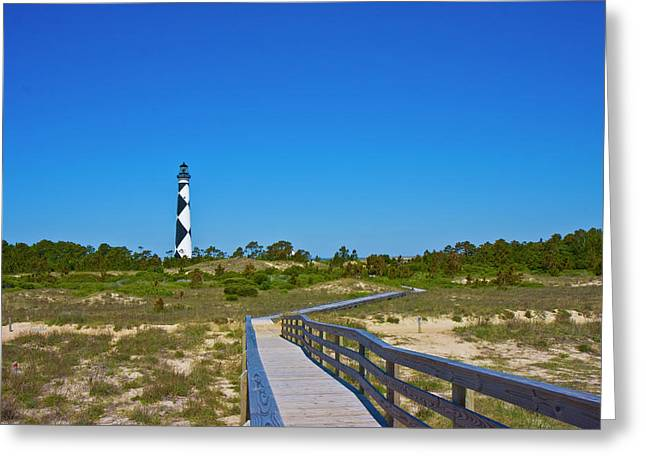 Cape Lookout 2 Greeting Card by Betsy Knapp
