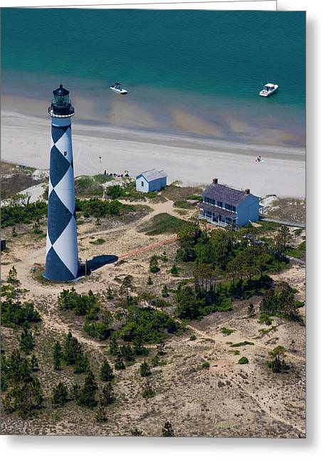 Cape Lookout 4 Greeting Card by Betsy Knapp