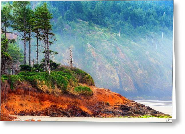 Cape Lookout Beach Greeting Card