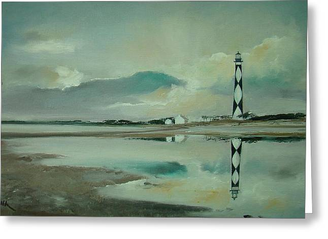 Cape Lookout Greeting Card by Charles Roy Smith