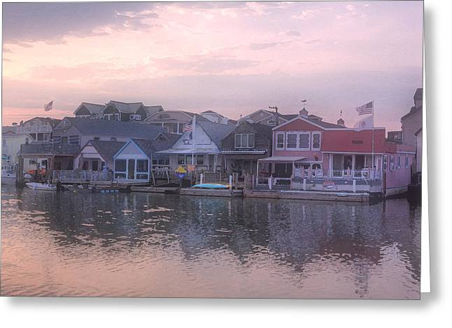 Cape May Harbor Greeting Card