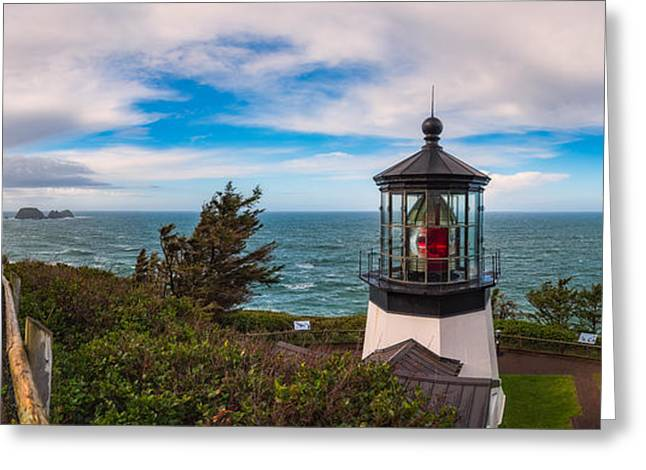 Cape Meares Lighthouse Greeting Card by Darren White