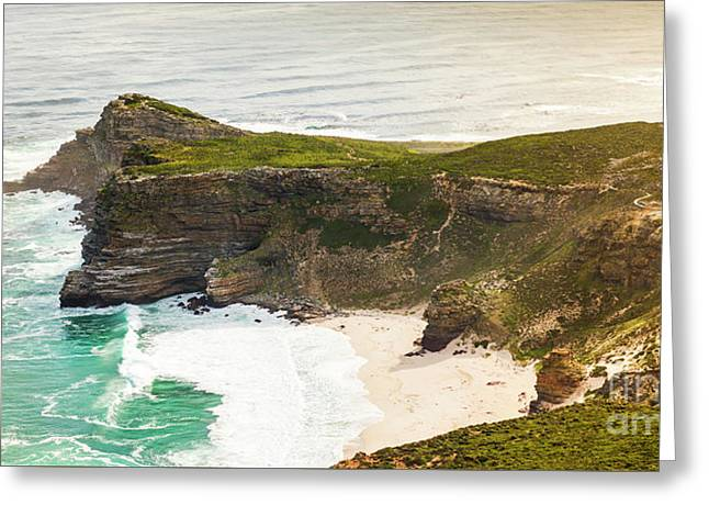 Cape Of Good Hope Headland Greeting Card by Tim Hester