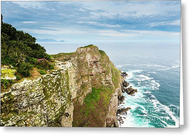 Cape Of Good Hope South Africa Greeting Card by Tim Hester