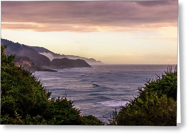 Cape Perpetua, Oregon Coast Greeting Card