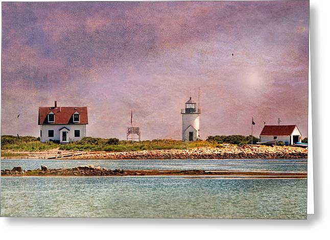 Cape Porpoise Lighthouse Greeting Card by Diana Angstadt