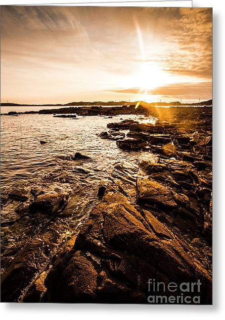 Cape Portland Tasmania Greeting Card