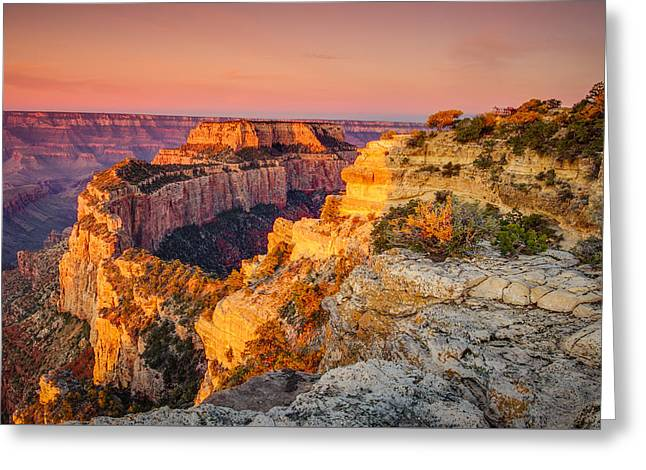 Cape Royal Sunrise Grand Canyon Greeting Card