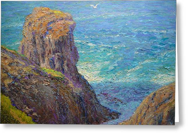 Terry Perham Greeting Cards - Cape Saunders Greeting Card by Terry Perham
