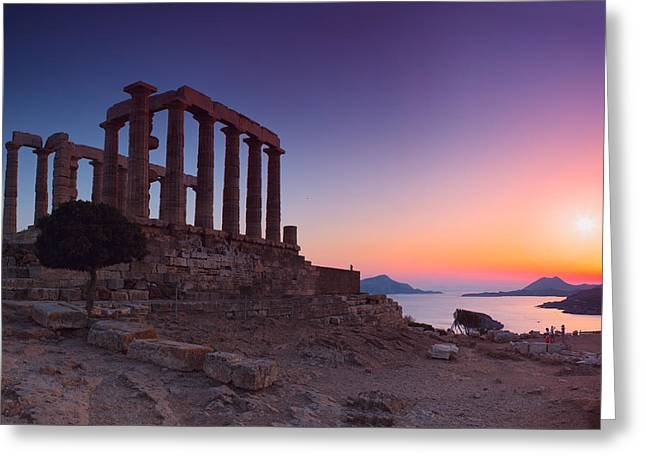 Cape Sounion Greeting Card