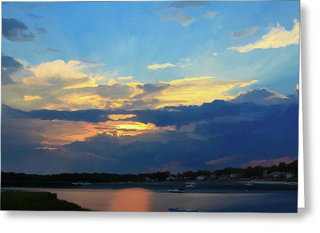 Cape Sunset  Greeting Card