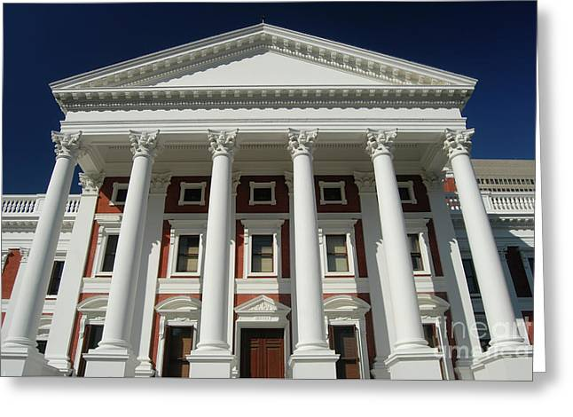Cape Town South Africa. Houses Of Parliament. Greeting Card