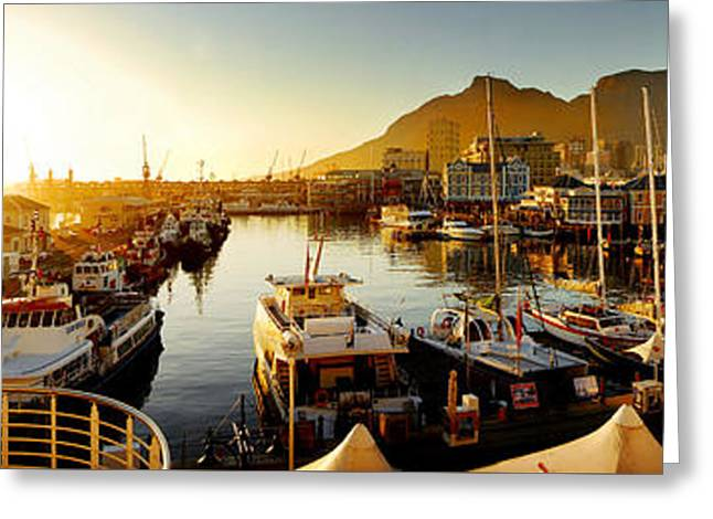 Cape Town's Waterfront Greeting Card