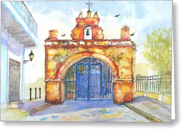 Capilla Del Cristo Puerto Rico Greeting Card by Carlin Blahnik