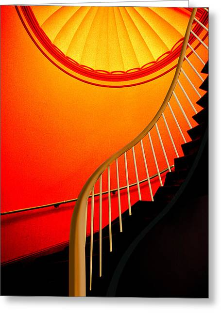 Capital Stairs Greeting Card