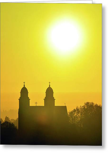 Capitol Hill Church Greeting Card