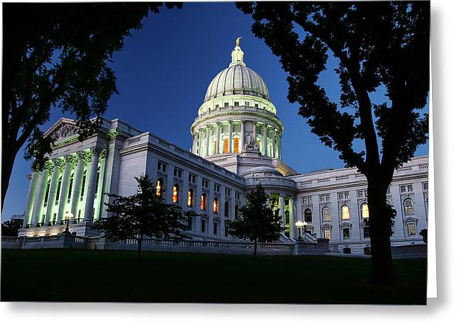 Capitol Lights Greeting Card