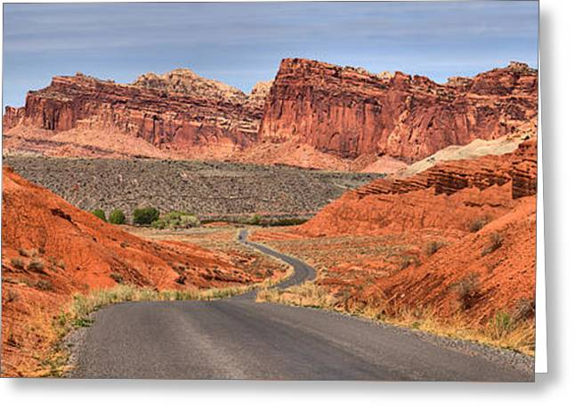 Capitol Reef Stunning Drive Greeting Card