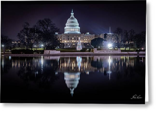 Capitol Reflects Greeting Card